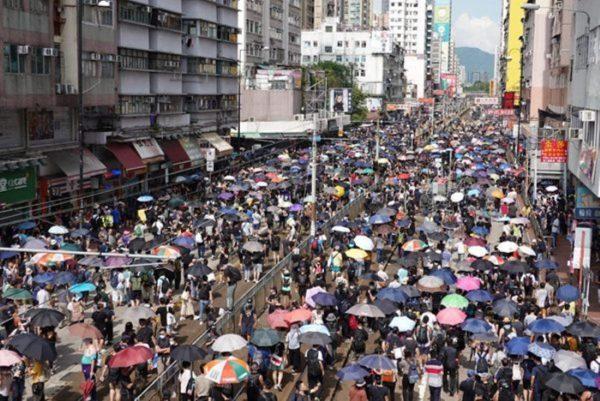 外媒:香港人受夠了!反送中怒火正在轉向北京
