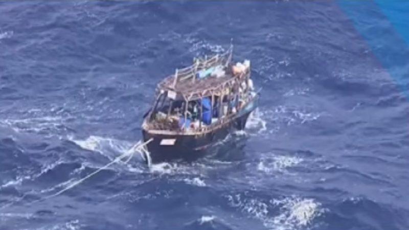 趁黑夜越界 韩军拦截朝鲜船只拘3人