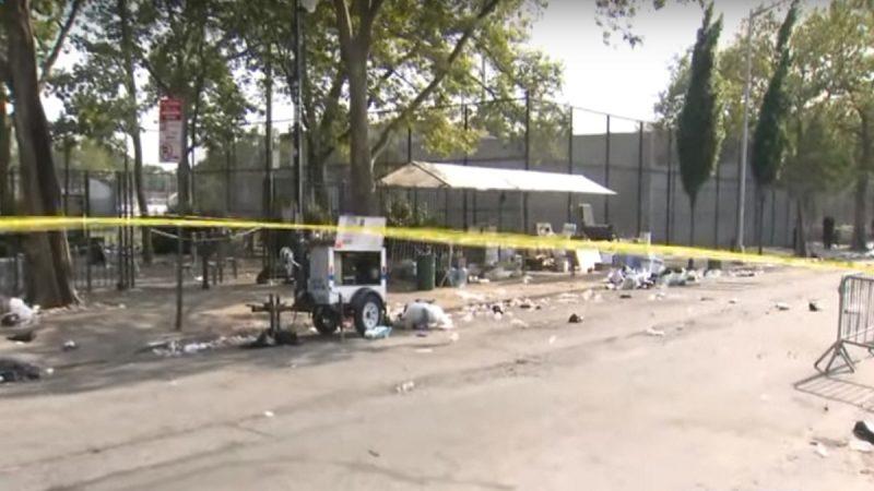 纽约布鲁克林爆枪击 至少1死11伤