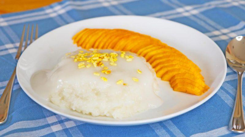 【美食天堂】泰式糯米芒果 |夏日必吃甜點|家常料理食譜 一學就會