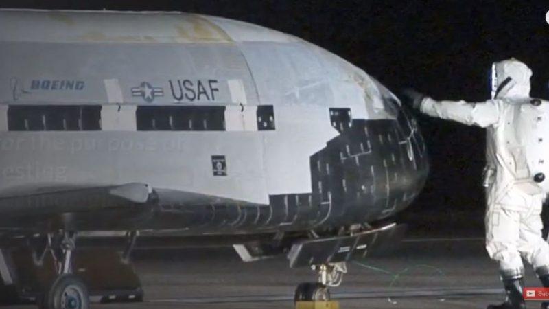 美X-37B飞机可神秘消失 中共卫星找不到