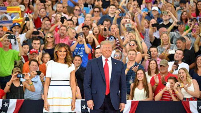 美國獨立日展示強大軍力 川普:我們是神的子民