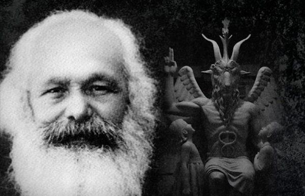 不为人知的马克思:一名不避言的撒旦崇拜者,歌颂魔鬼仇恨人类