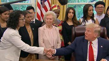 【严真点评】川普总统白宫首次会见法轮功学员/《为你而来》花絮