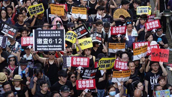 北大教授:香港之乱是管出来的 北京应还权给港人