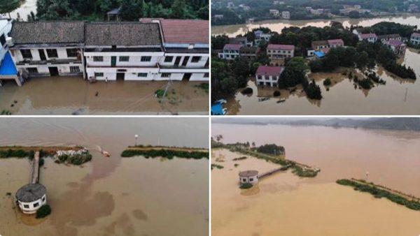 中國特大洪災 官媒沉默 頭條是紐約停電(視頻)
