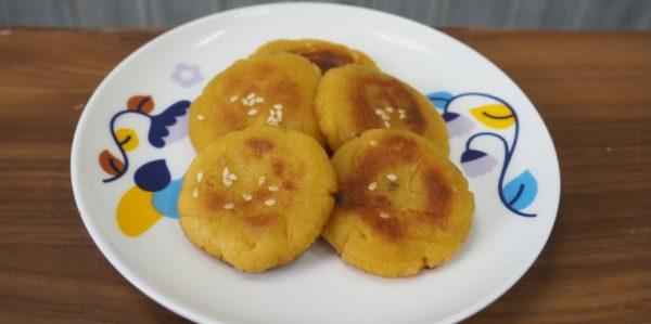 香煎蕃薯餅 健康美味的小食(視頻)