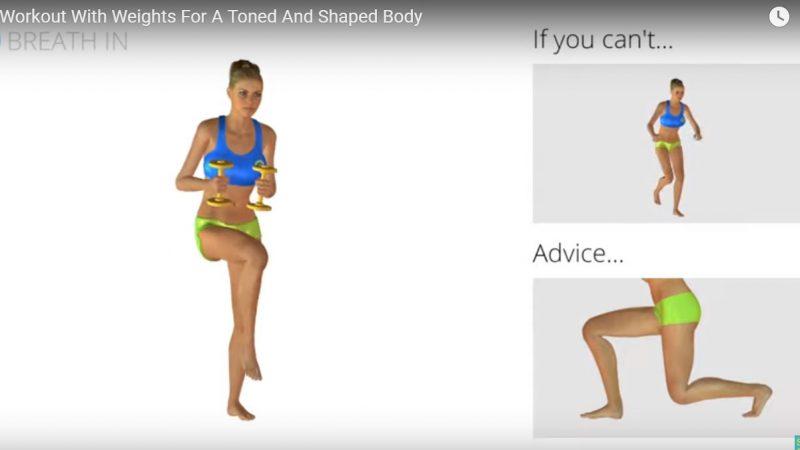 完美的有氧运动 减掉肚腩 增加新陈代谢(视频)
