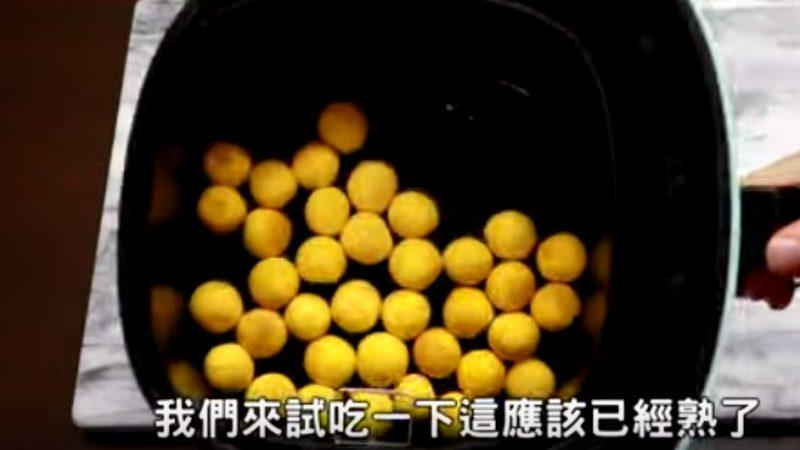 地瓜球 口感超好吃(视频)