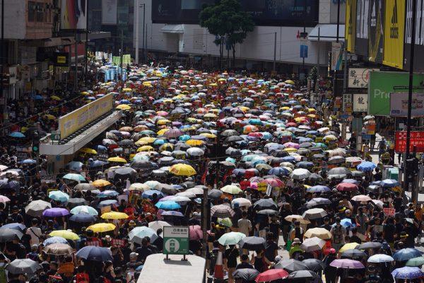 香港七一游行计划生变 民阵改游行终点