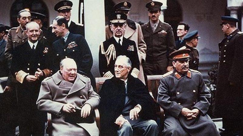 """【江峰时刻】""""打造""""《雅尔塔协议》出卖中国的神秘人,躲在罗斯福总统身后的红色间谍"""