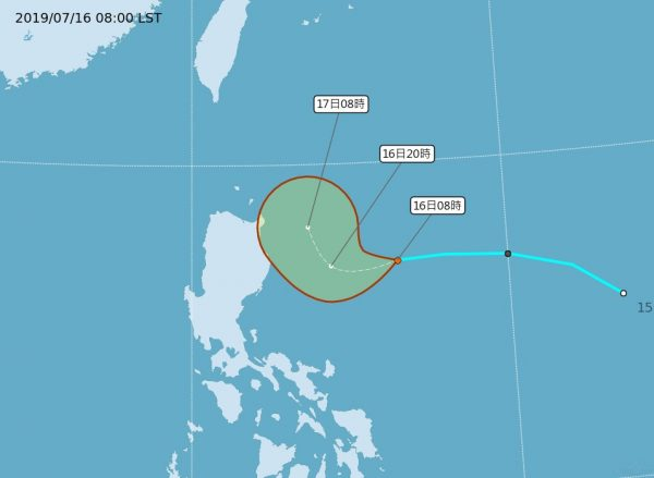 热带低压路径北偏对台影响大 气象局不排除发海上陆上警报