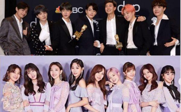 日本唱片行2019热销专辑榜 TWICE与BTS称冠