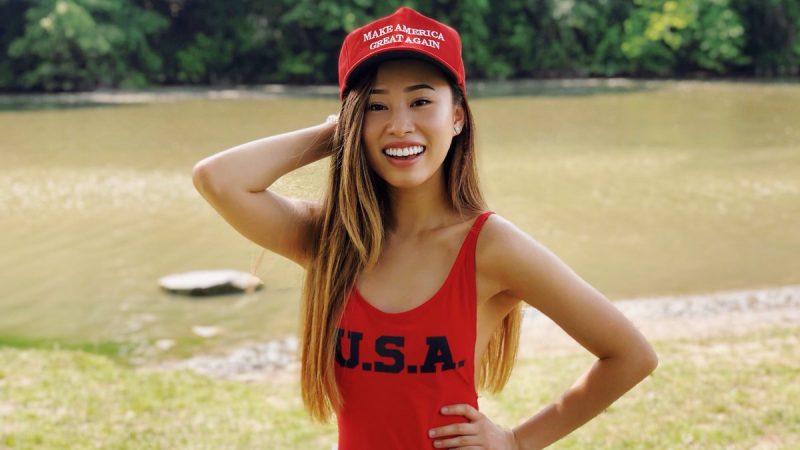 力挺川普 前華裔選美小姐加入競選團隊