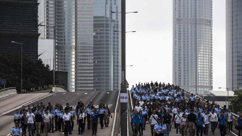 中共要武力军管香港?国防部发言人话中有话