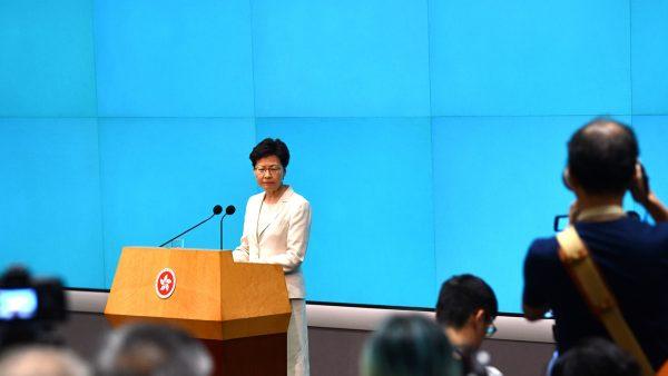 暗助北京分化香港 林郑被斥滥权无反省