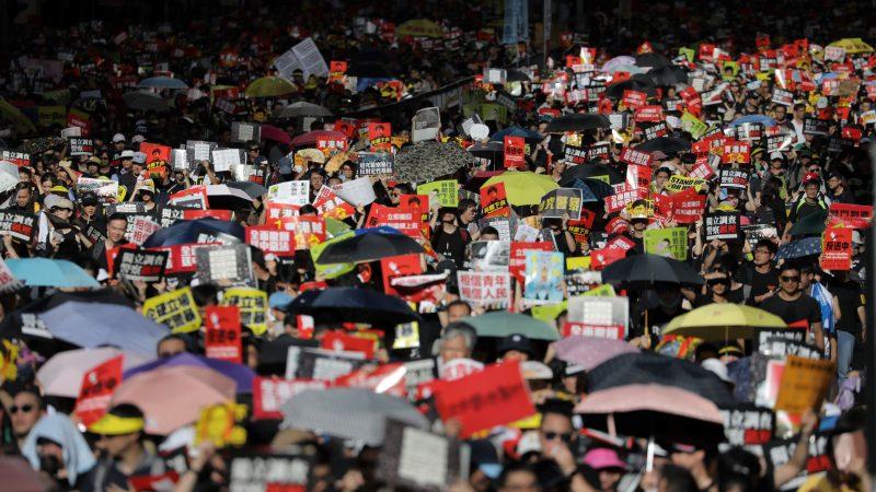 公安部机密文件曝光 香港事件令北京惶恐不安