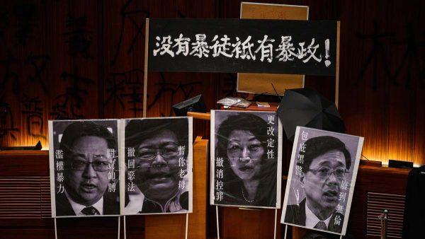 党媒极力抹黑香港示威 民间赞和平抗议典范