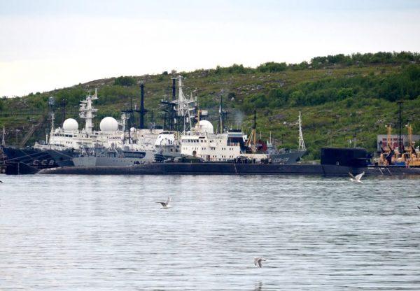 俄核动力潜艇失火 14水兵吸入毒气死亡