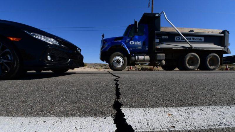 南加州余震不断 7.1强震创25年来纪录