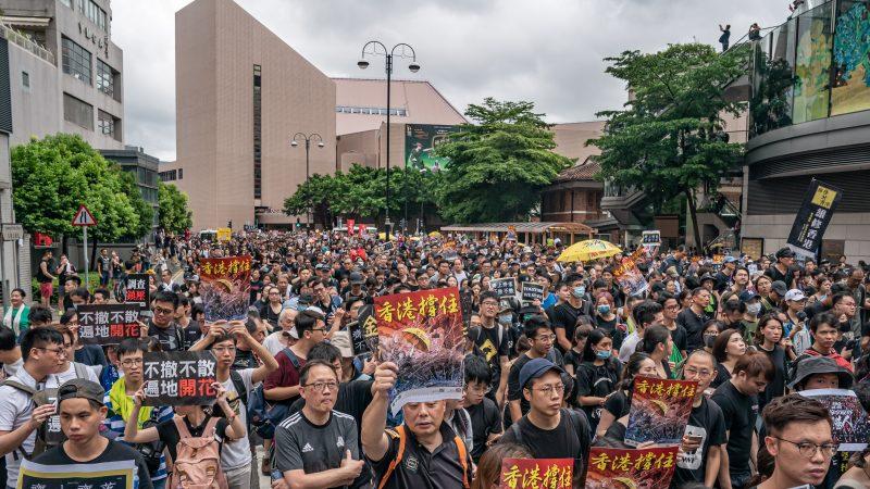 香港學生自印反送中傳單:希望星星之火蔓延大陸