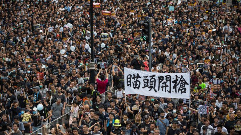 宋征时:呼吁中国军方切勿血洗香港!