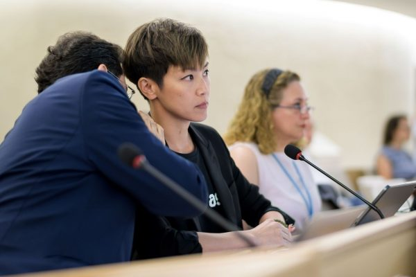 何韻詩聯合國演講反送中 呼籲緊急保護香港