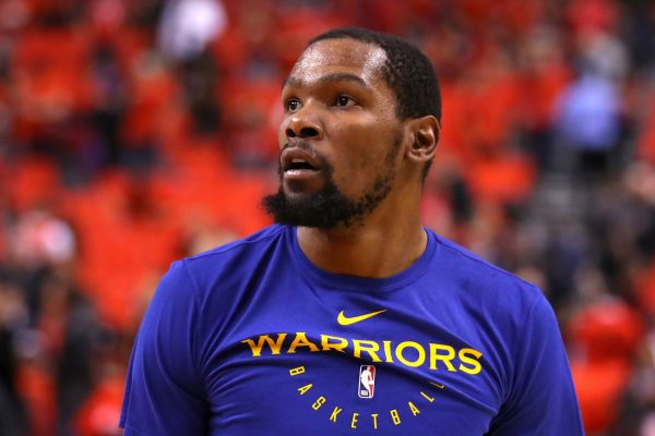 NBA巨星杜蘭特頂薪加盟 籃網組成三巨頭