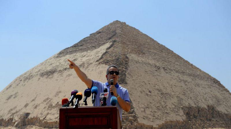 時隔逾50年 埃及兩座金字塔重新對遊客開放
