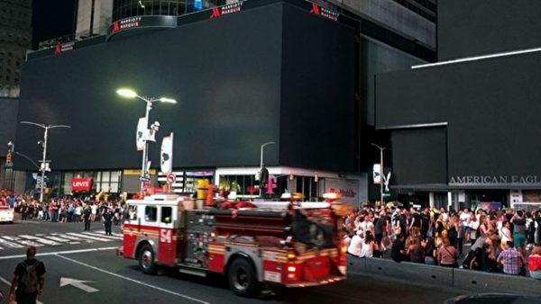 曼哈顿4.2万户断电 时代广场受影响