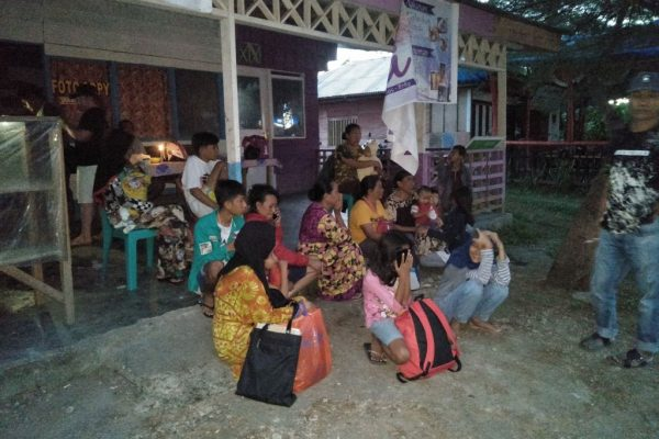 印尼东部7.3强震 余震不断居民恐慌