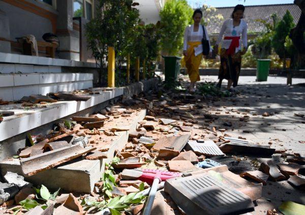 印尼峇里島今晨5.7地震 20棟建物受損