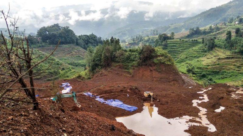 贵州山体滑坡遇难者已达26人 尚有25人失踪