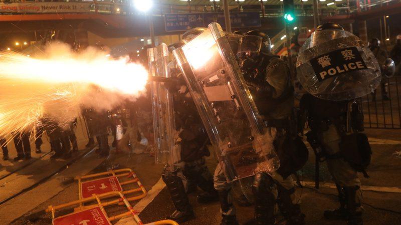 【天亮時分】香港又開槍,中共能拖到十月份嗎?