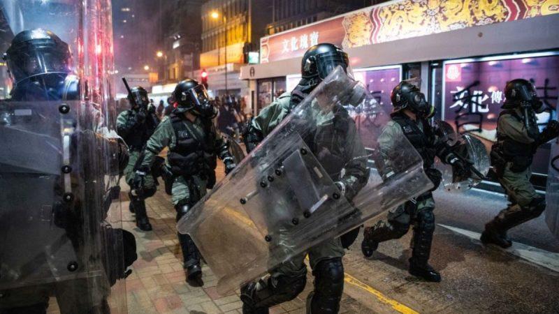 港媒:有勢力逼習近平出兵 幕後劇本直指香港戒嚴