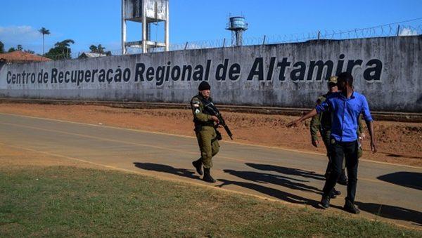 巴西监狱帮派斗殴纵火 腥风血雨至少57人死