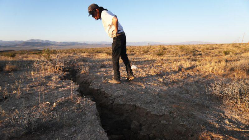南加州7.1强震属主震 零星灾情传出