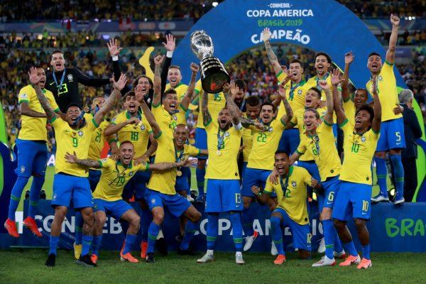 东道主巴西击败秘鲁 12年后再夺美洲杯
