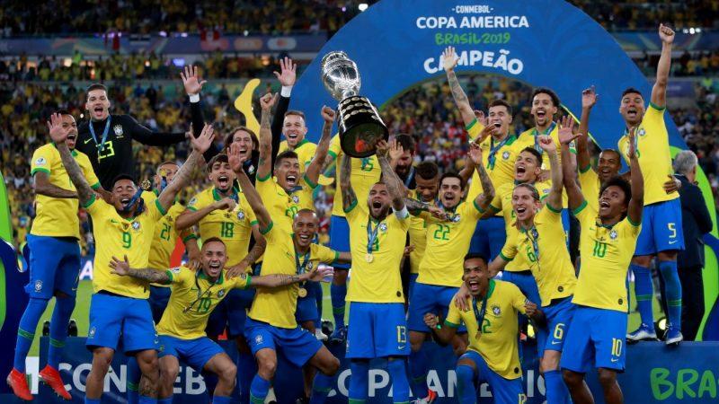 東道主巴西擊敗秘魯 12年後再奪美洲盃