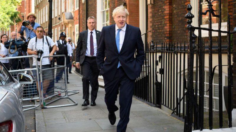 约翰逊当选英国首相 川普发推文祝贺