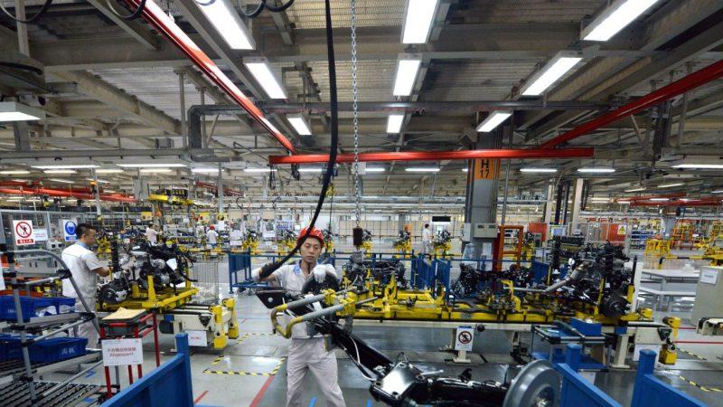 中國6月工業利潤同比下降3.1%