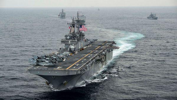 緊逼美國軍艦 伊朗無人機遭擊落