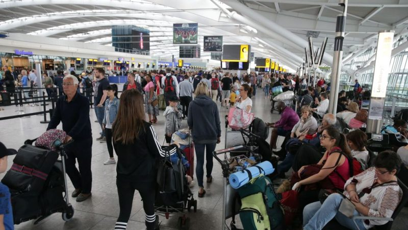 倫敦希斯羅機場暑假大罷工 赴英旅遊避開這些時段