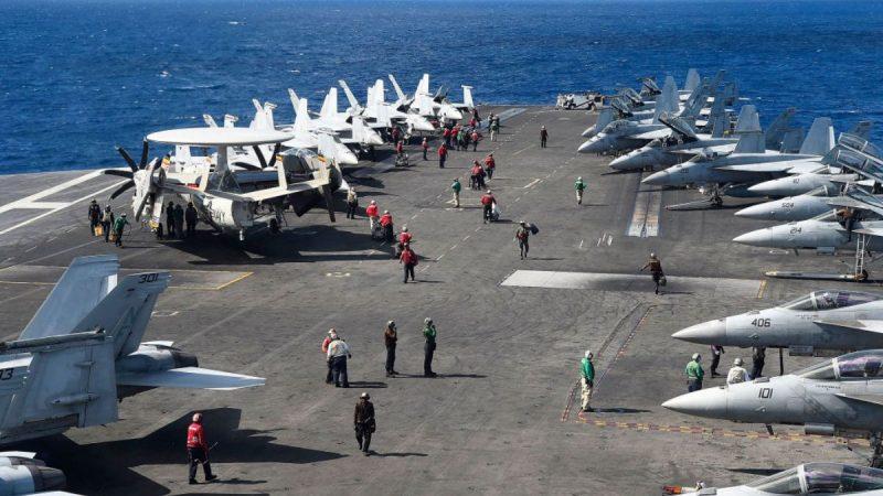 美军机持续迫近广东 大军压境中共出奇沉默