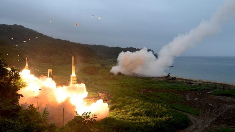 朝鮮再發多枚飛彈 金正恩意圖引猜測