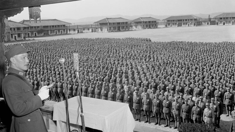 蒋介石亲手打造特种部队 六百人打败两万日军王牌