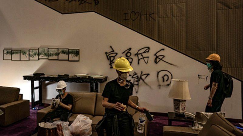香港反送中逾50人被捕 年齡最小僅14歲