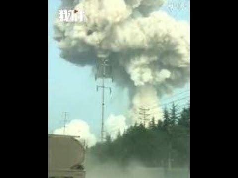 陈破空:大爆炸 中原升起蘑菇云 领导人急忙躲避 视察就是摆拍 习主席受人操弄?