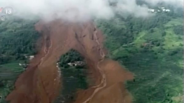 贵州山泥倾泻21房屋被埋 至少15死30失踪