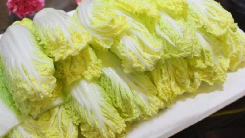 陸再爆蘸毒蔬菜醜聞 娃娃菜檢測樣本一半含甲醛